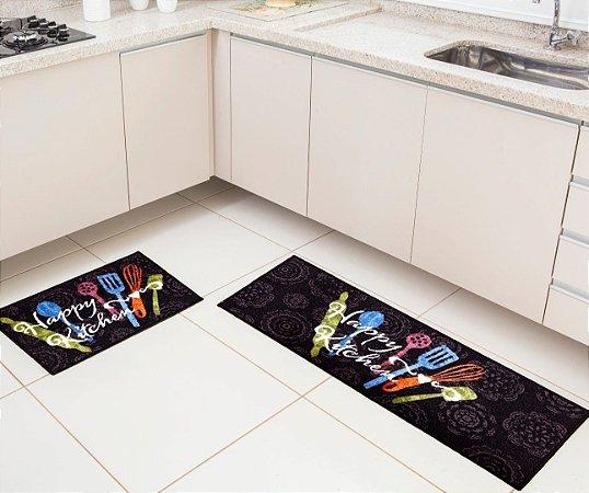Jogo De Cozinha Bistro Happy Kitchen - 02 Kit Com 2 Peças
