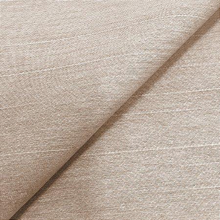 Tecido Linho Impermeabilizado Liso Bege Escuro - Mace 45
