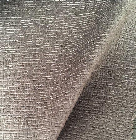 Tecido veludo toscana marrom claro - 02