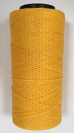 Fio Cordone Encerado Nº 4 - Amarelo Gema
