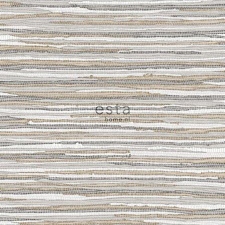 Papel de parede Cabana Listras Marrom, Bege e Areia - 140-148618