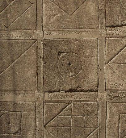 Papel de parede Neonature Estilo Muro de Pedras Cinza PR-0162