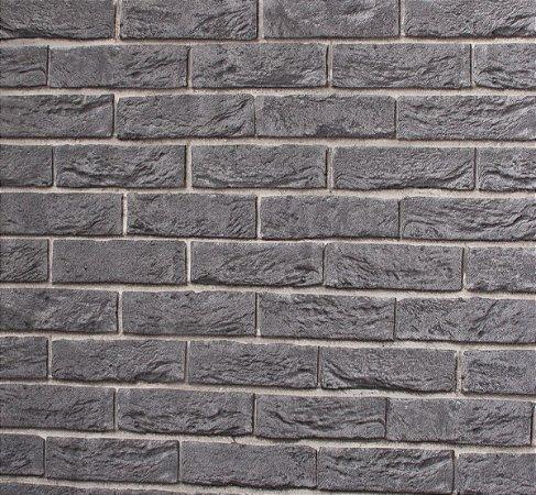 Papel de parede Neonature Muro De Tijolos Cinza Escuro PR-8053