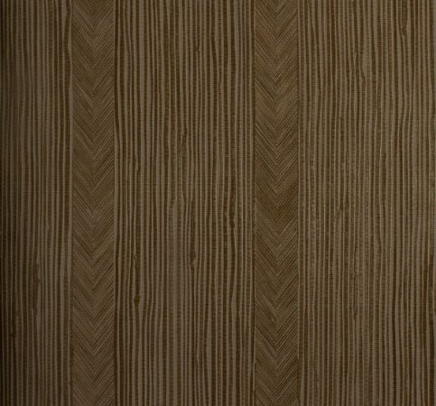 Papel de parede Neonature Zig Zag com Listras em Tons de Marrom Escuro PR-8005