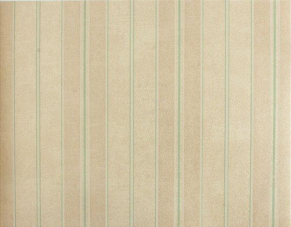 Papel de parede Space III Linhas Verde Claro, Bege Claro e Branco SP-138902