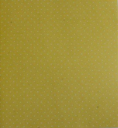 Papel de parede Ola Baby Poa Verde com Branco FA-39105