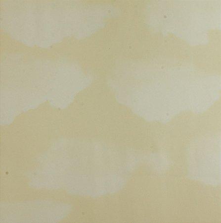 Papel de parede Ola Baby Bege Claro com Nuvens Brancas FA_39203