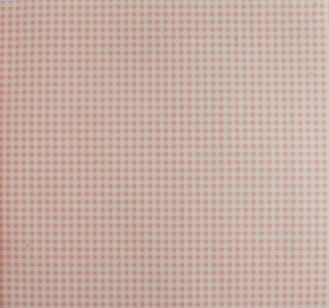 Papel de parede Ola Baby Quadriculado Rosa e Branco FA-39401