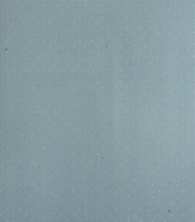 Papel de parede Ola Baby Poa Azul Claro com Branco FA-39101
