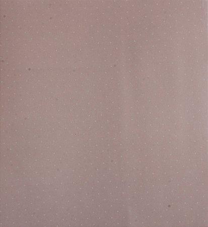 Papel de parede Ola Baby Poa Rosa Claro e Branco FA-39104