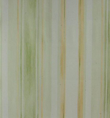 Papel de parede Ola Baby Listrado Verde, Amarelo e Branco FA-38604