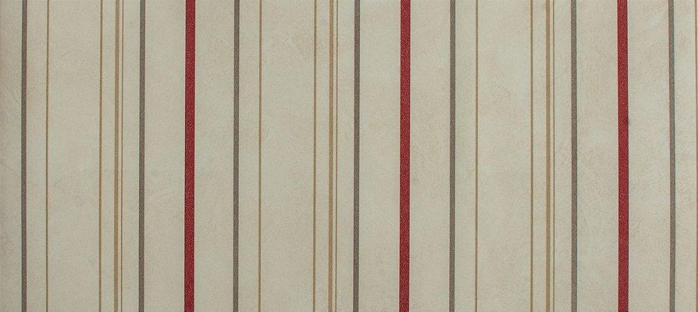 Papel de parede Ola Baby Listrado Creme, Bordô e Cinza FA-38503
