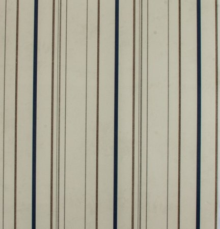 Papel de parede Ola Baby Listrado Creme, Azul Marrom e Cinza FA-38502