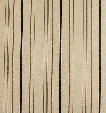 Papel de parede Ola Baby Listrado Bege, Preto e Cinza FA-38501