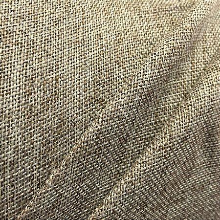 Tecido BlackOut Blecaute Estilo Linho Rústico Bege com 2,80m de Largura