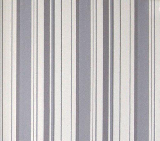 Papel de parede Barcelona Listras Cinza e Branco BC-380604