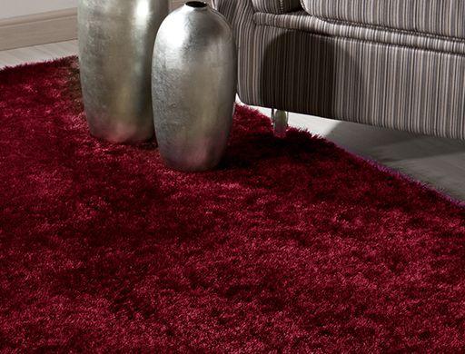 Tapete Kasai Extra macio Vermelho 50x100cm