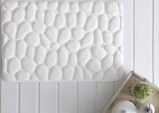 Tapete  Elementar Extra macio Branco  60x40cm - Corttex