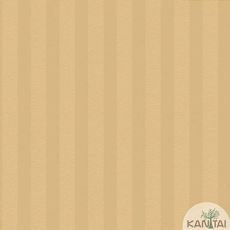 Papel de parede New Form Listrado Dourado - NF-631006