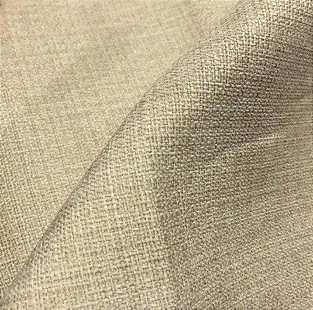Tecido linho Rustico Clássico Linen Look Bege Claro