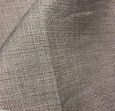 Tecido linho Rustico Clássico Linen Look Bege Escuro