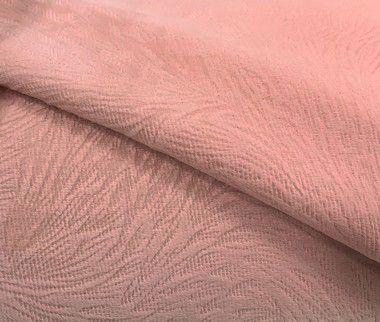 Tecido Veludo Pena Rosa Rosê Macio
