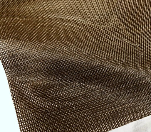 Tela Sling Grossa para Cadeiras, Espreguiçadeiras, Praia e Campo - PVC 36 Marrom