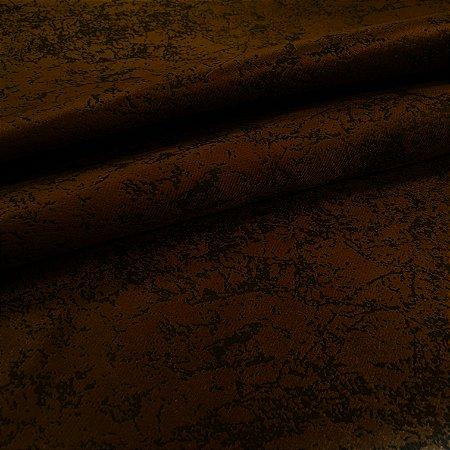 Tecido Veludo Bull Travertino Chocolate