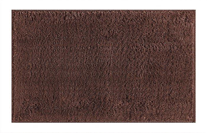 Tapete para Sala Antiderrapante Silky Chocolate 1,00x1,50