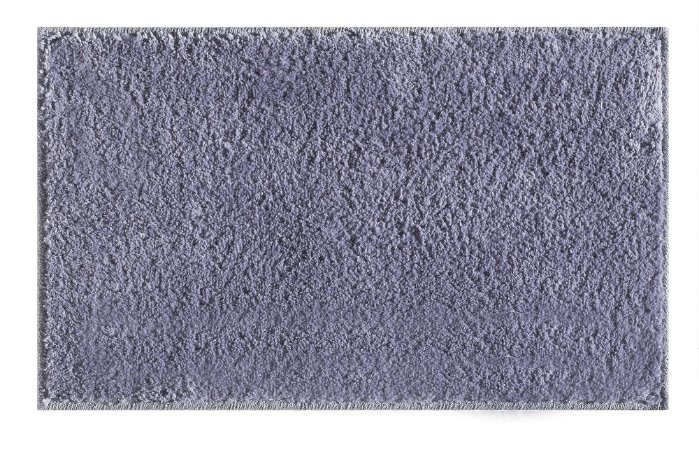 Tapete para Sala Antiderrapante Silky Prata 1,50x2,00