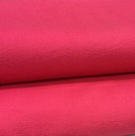 Tecido Veludo Rosa Pink liso, macio e confortável