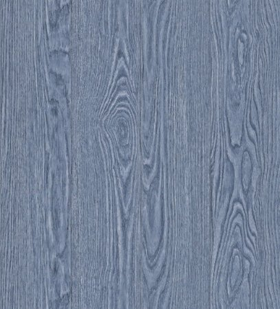 Papel de Parede Vitoriano Estilo Madeira Azul SZ-003375