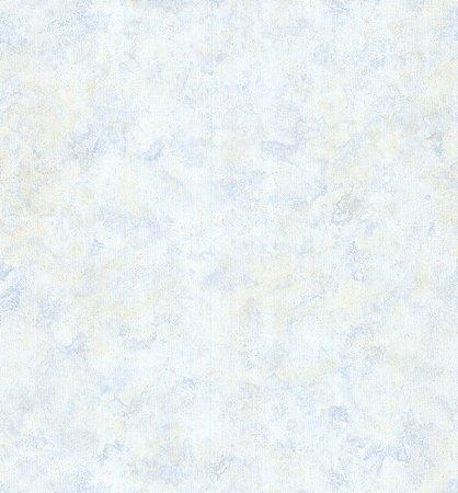 Papel de Parede Vitoriano Abstrato Creme e Azul SZ-003394