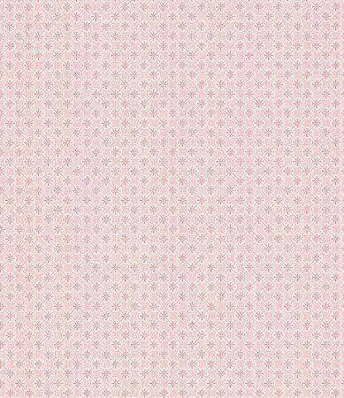 Papel de Parede Garden Estilo Tile Rosê e Branco - SZ002741