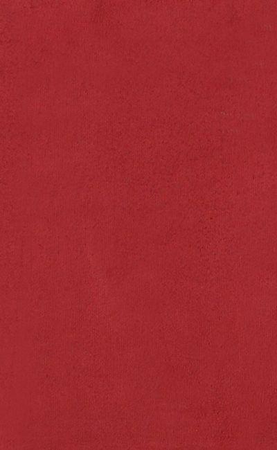 Tecido Suede Vermelho Tijolo Liso - 08
