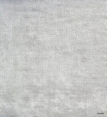 Tecido Stone Velvet Prata - 03