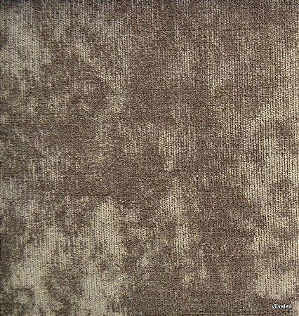 Tecido Stone Velvet Marrom - 07