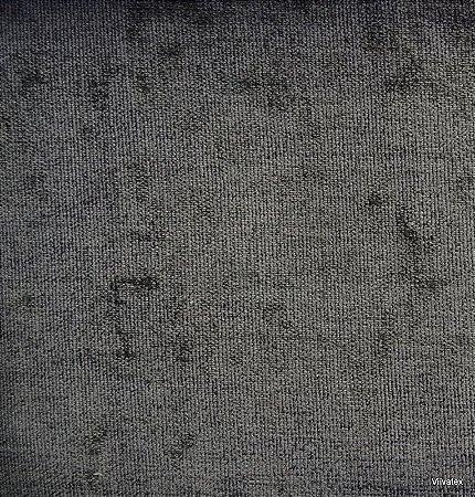 Tecido Stone Velvet Preto - 08
