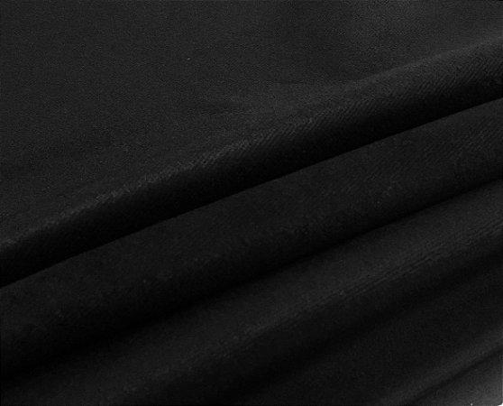 Tecido Veludo UltraConfort Liso Preto