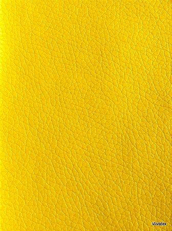 Tecido Corino Amarelo