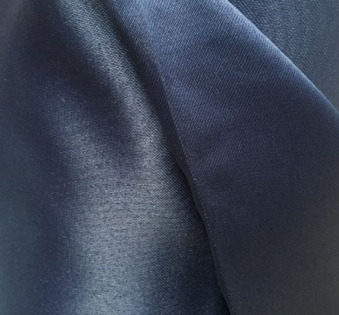 Tecido Cetim Azul Marinho