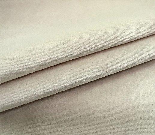 Tecido Veludo Marfim