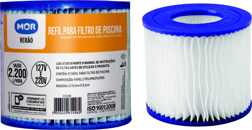REFIL P/ FILTRO - 2200Litros /H - MOR
