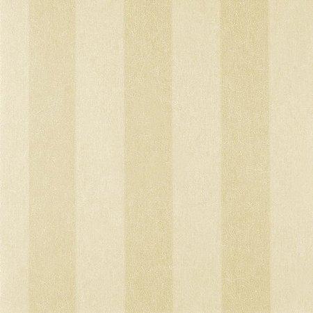 Papel de Parede Diamond Listrado Creme e Bege Texturizado - DF650702