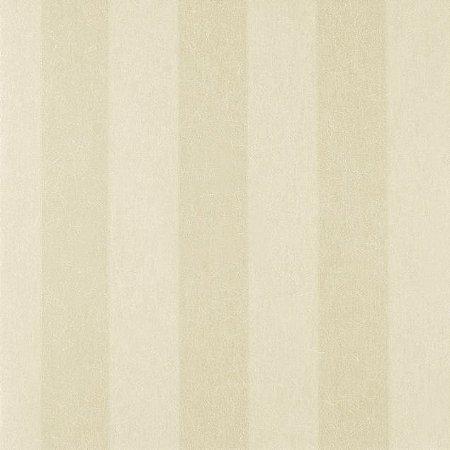 Papel de Parede Diamond Listrado Creme e Pérola Texturizado - DF650701