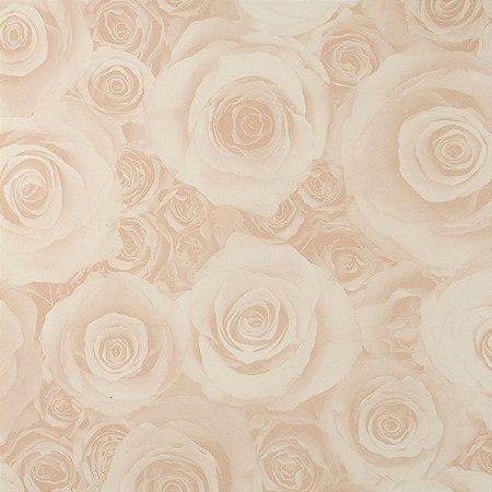 Papel de Parede Diamond, Rosa e Creme - OP2-350501