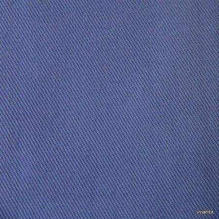 Tecido Sarja Azul Celeste