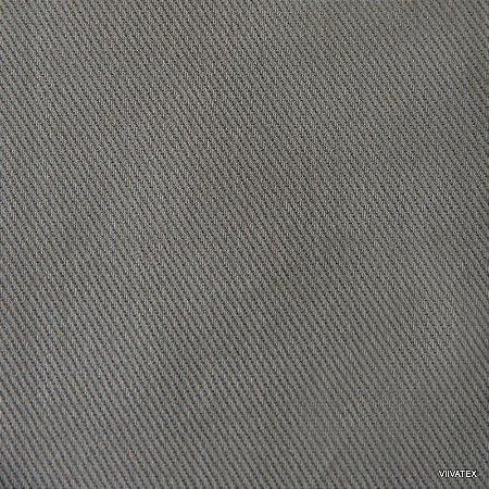 Tecido Sarja Cinza - Peletizada, para sofá, cadeiras, poltronas e capas com 265 gramas