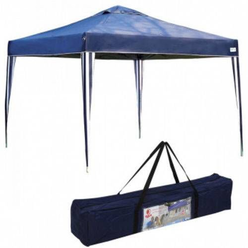 Gazebo Tenda Praia x-flex Oxford MOR - Azul- 3,00 x 3,00 Mts.