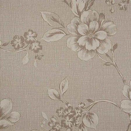 Papel de Parede Goteborg, Flores Bege Escuro - GT28995